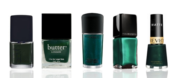 Fall-Trend-Green-Nail-Polish