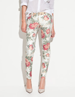 FLOWER PRINT TROUSERS 2790