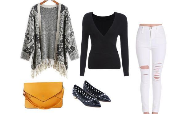 SheIn autumn outfit set 4
