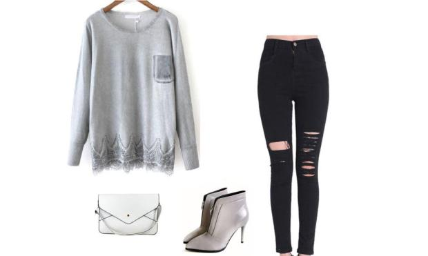 SheIn autumn outfit set 1