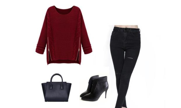 SheIn autumn outfit set