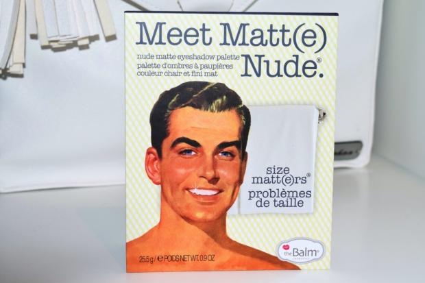 thebalm meet matte nude paleta