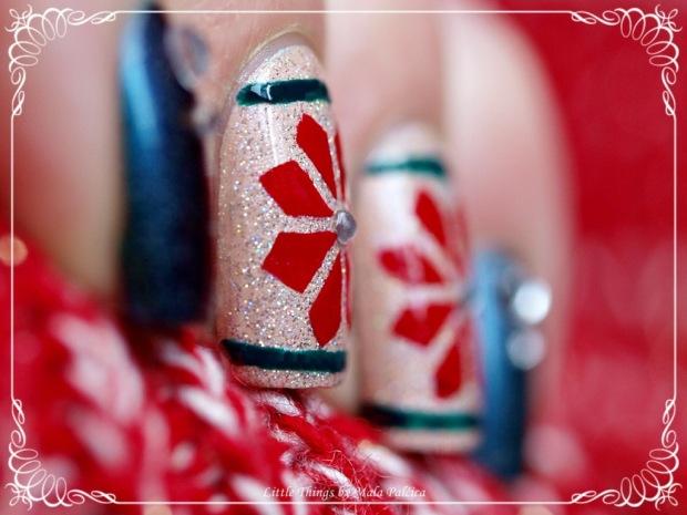 božićna manikura